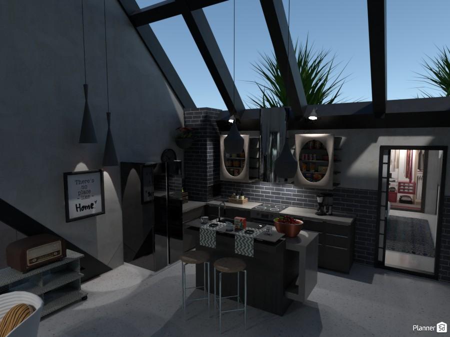 LOFT: Kitchen 3498355 by Moonface image