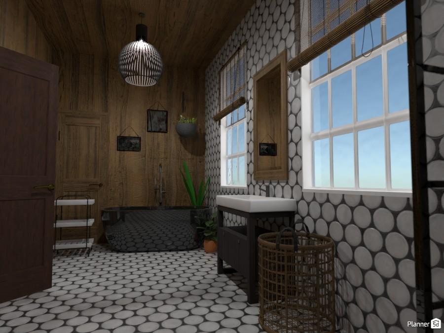 Wood Inspired Bathroom 3561310 by Random1997girl image