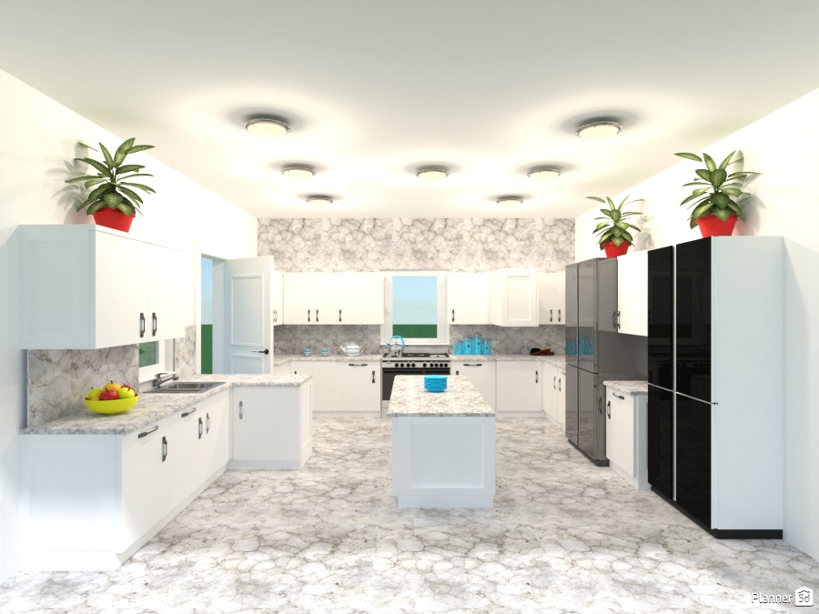 marble kitchen 2178408 by Joy Suiter image