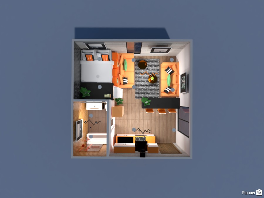 orange apartment 87650 by Anonymous:):) image