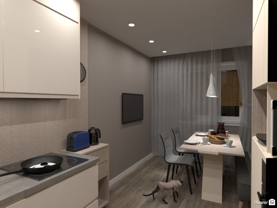 Дизайн кухни 4333049 by Татьяна Максимова image