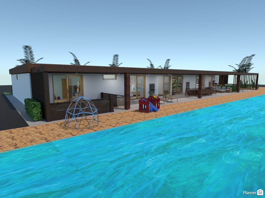 Beach house for a large family 86372 by Gabes image