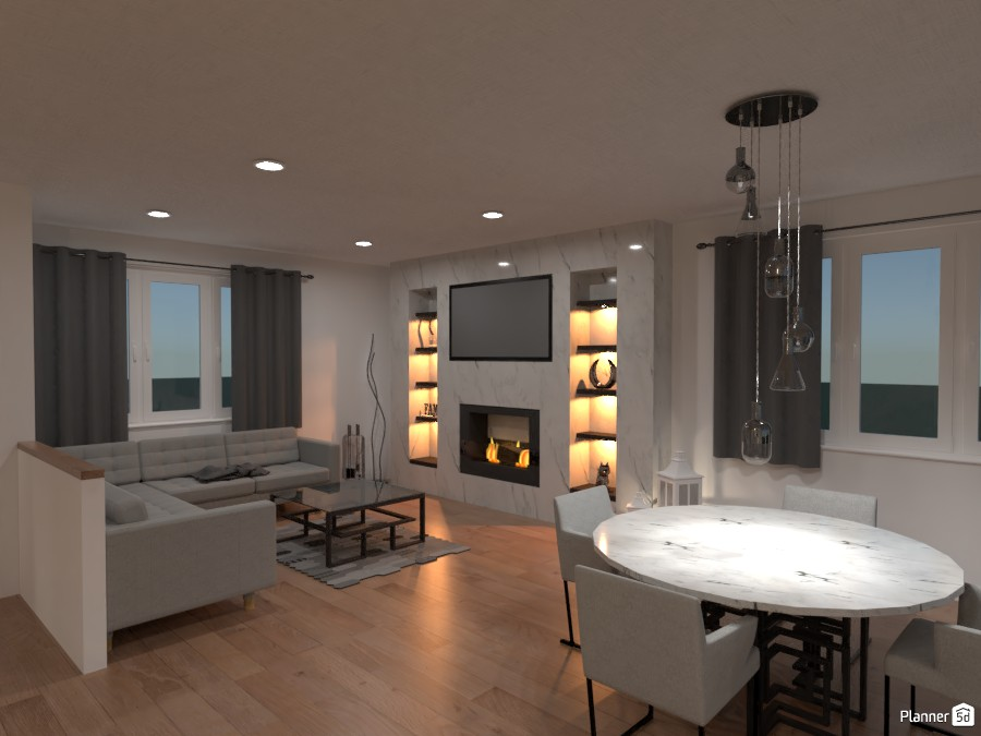 Living Room 4586490 by alestang image