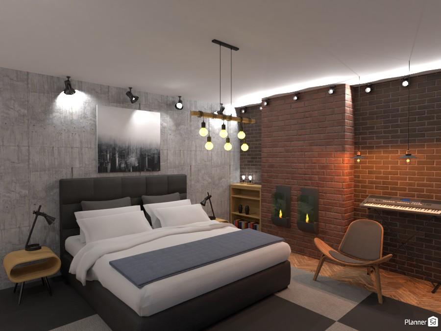loft bedroom 3381260 by Valery G. image