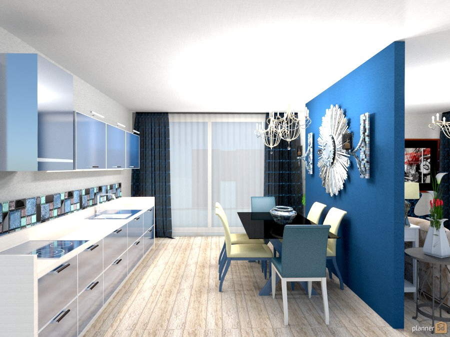 Living & Kitchen 355302 by Moonface image