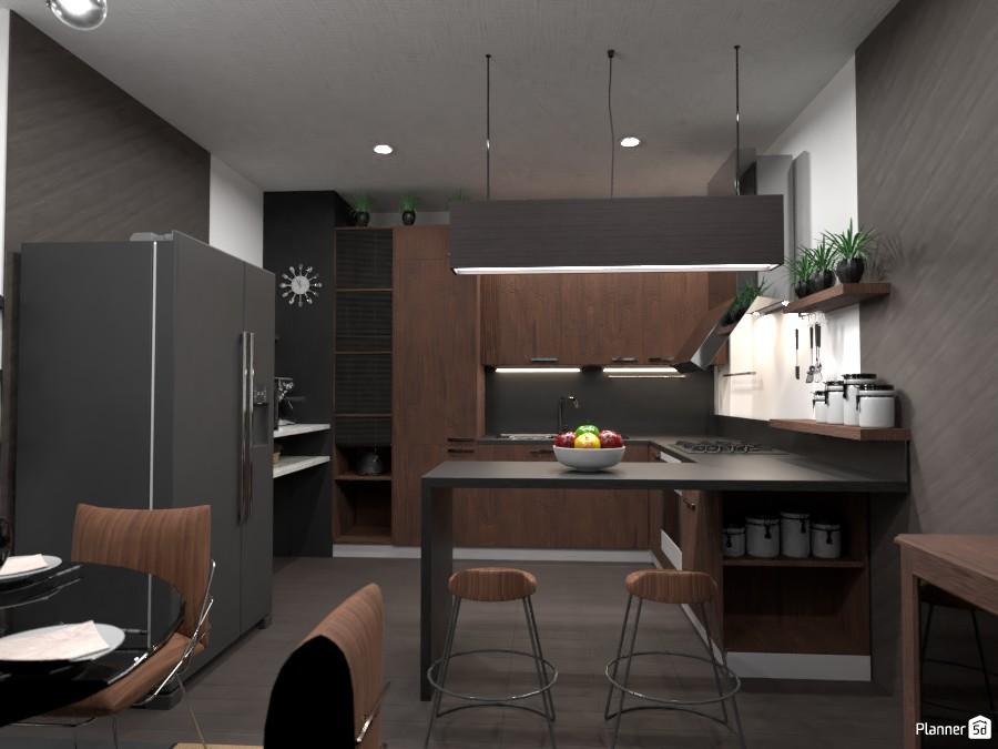 All black!: Design battle contest ... the kitchen 4363388 by Gabes image