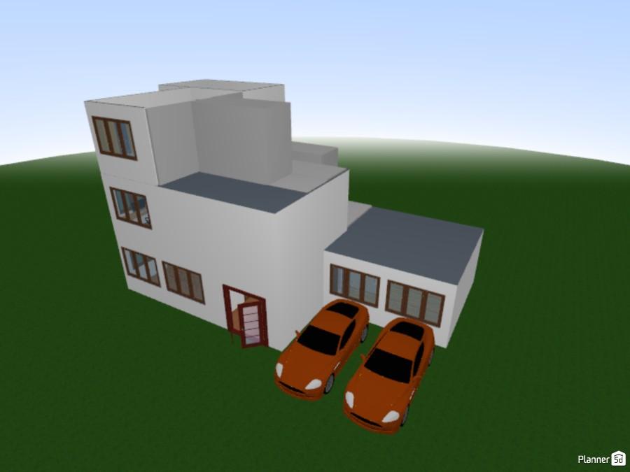 Modern house 86441 by Jason image