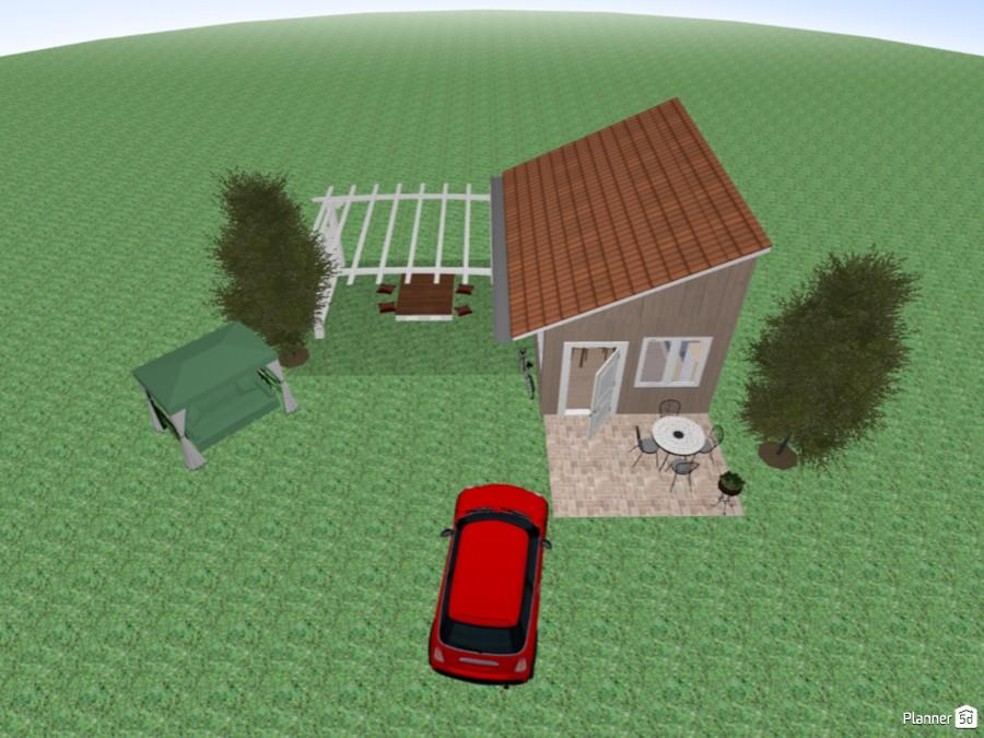 Sarah S Tiny House Free Online Design 3d Floor Plans By Planner 5d