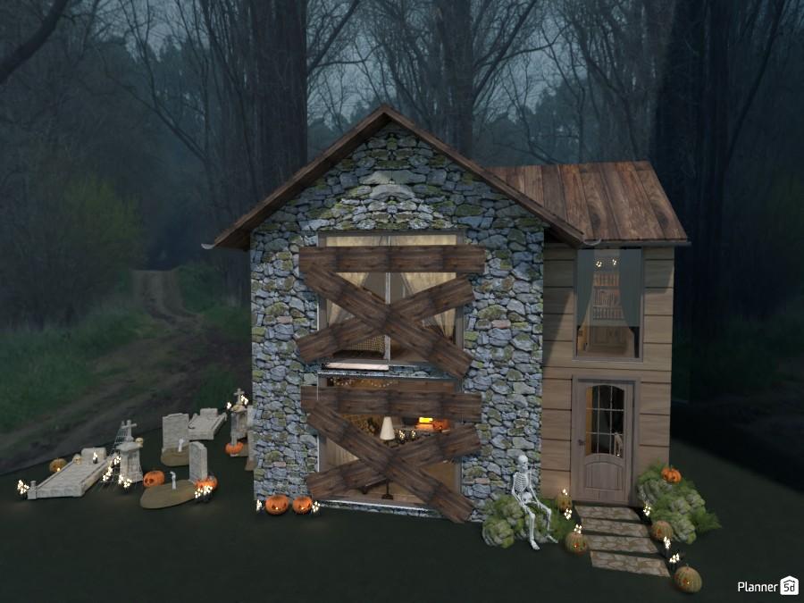 Día de brujas / fachada / Casa embrujada 5154306 by Hall Pat image