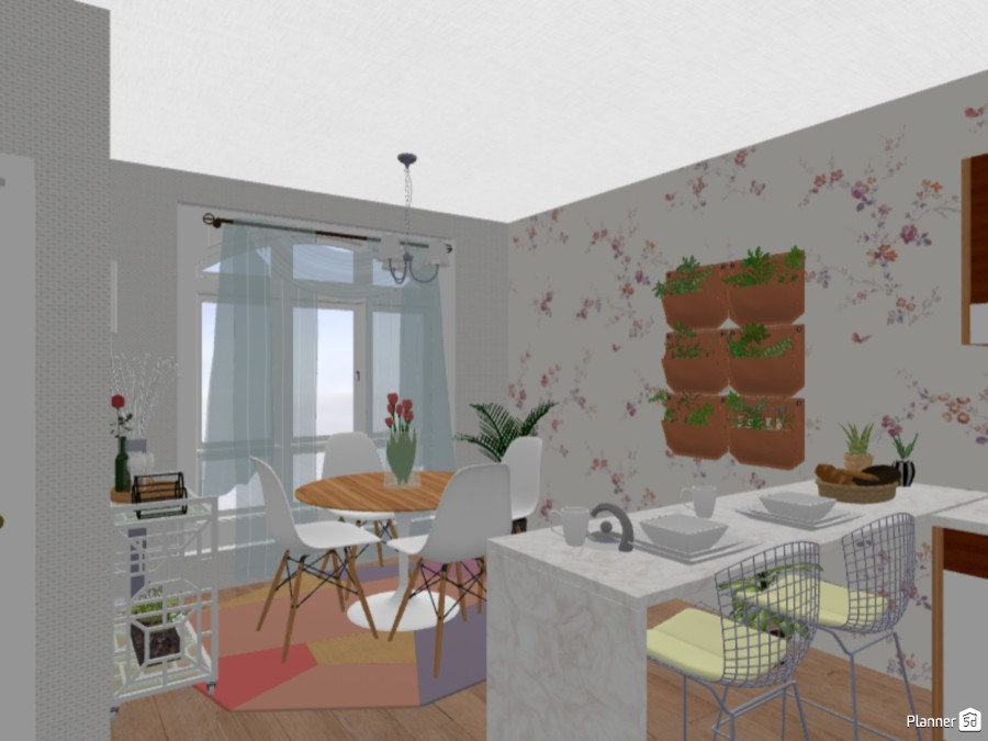 Spring kitchen 80611 by Hailey image
