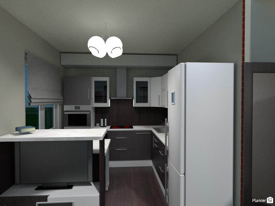 Уютная кухня + столовая зона ( Дачный проект ) 69744 by Roman Sovetnikov image
