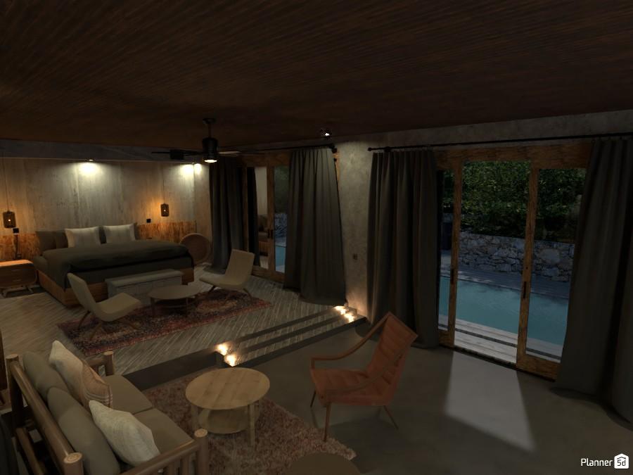 zen bedroom/living 4078785 by Michel image