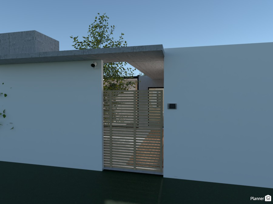 Courtyard House 87102 by Ana G image