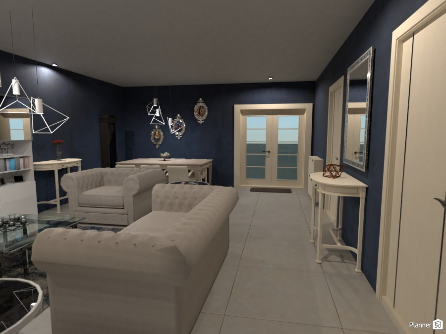 Navy Living Room 3665617 by Megan image