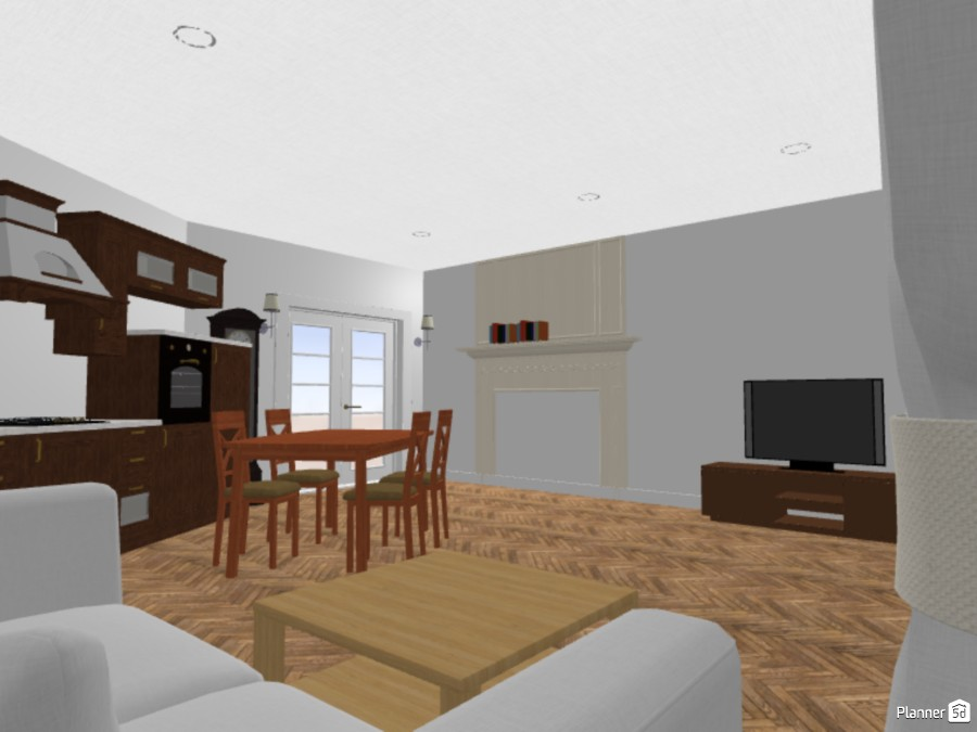 Kitchen and living room 2 84784 by Anonymous Genius (Bob_is_smart) image
