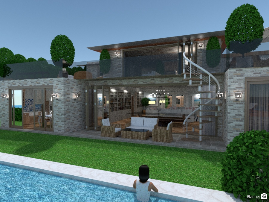 Modern Beach Villa 70844 by Chiara Meazza image