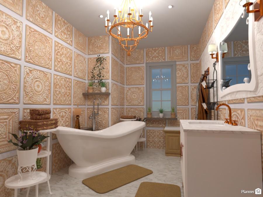 Classic bathroom: Design battle contest 4897747 by Gabes image