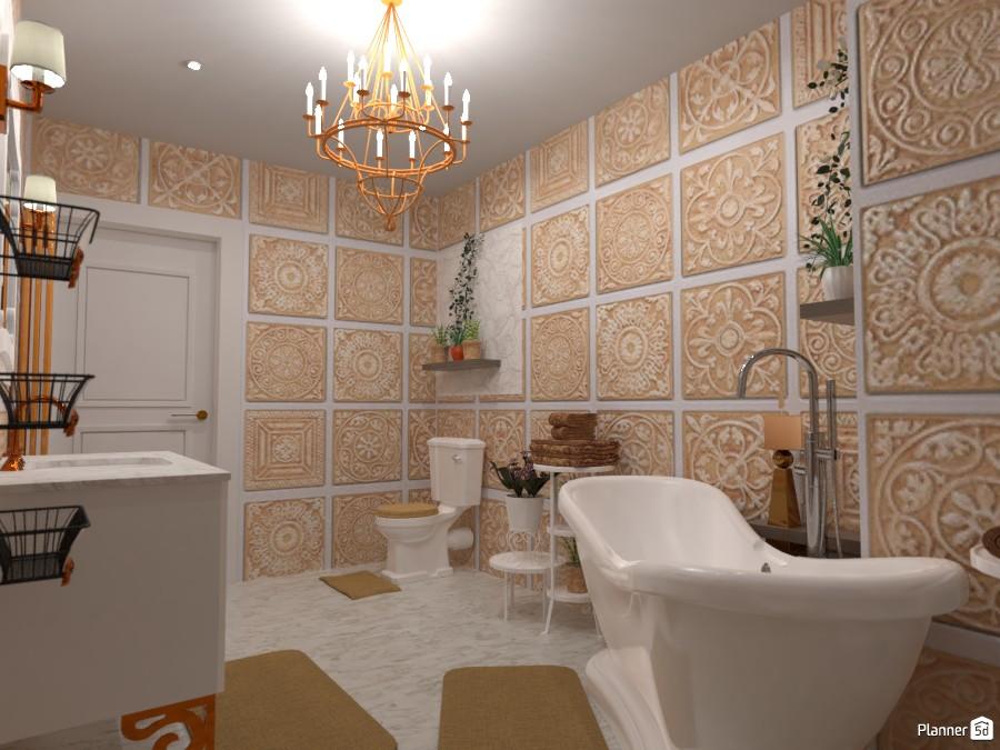 Classic bathroom: Design battle contest 4897750 by Gabes image