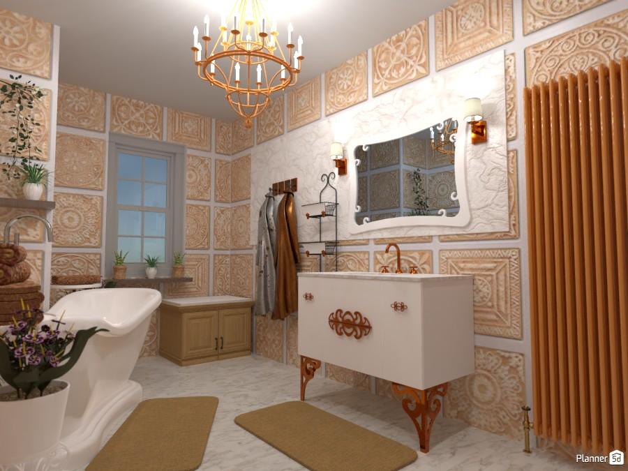 Classic bathroom: Design battle contest 88963 by Gabes image
