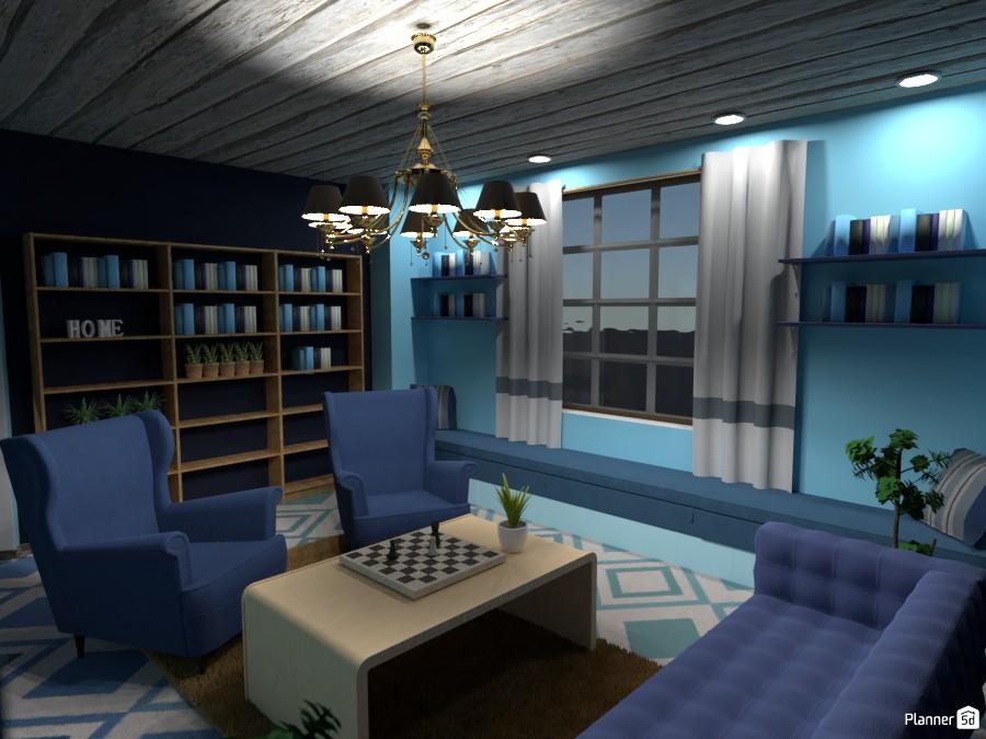 Library at home 3698121 by Nikolas image