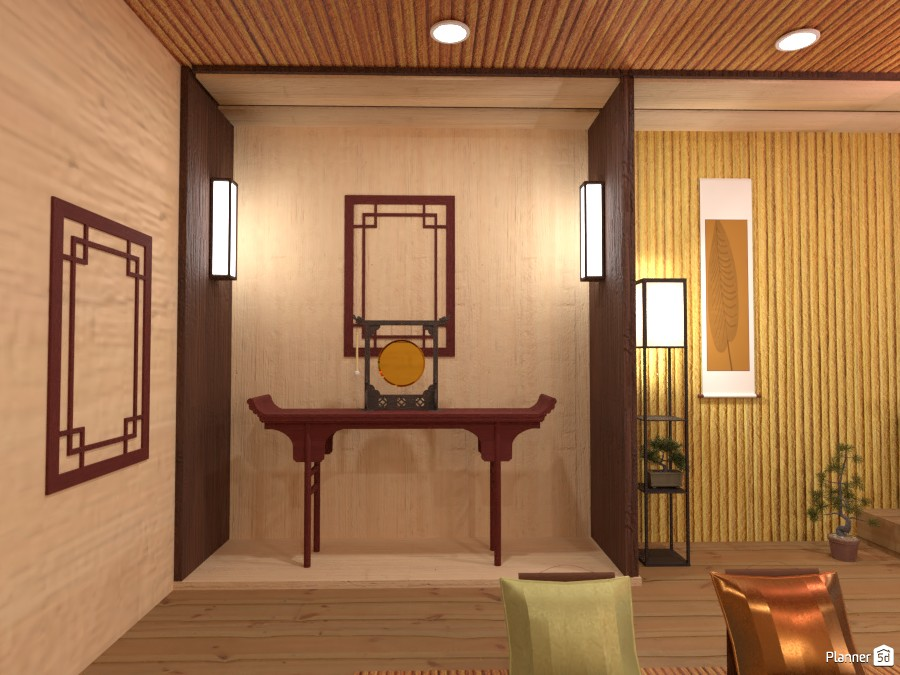 Chinese interior style 84894 by Gabes image