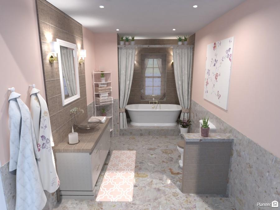 Classic bathroom | Batalla de diseño 4885606 by Hall Pat image