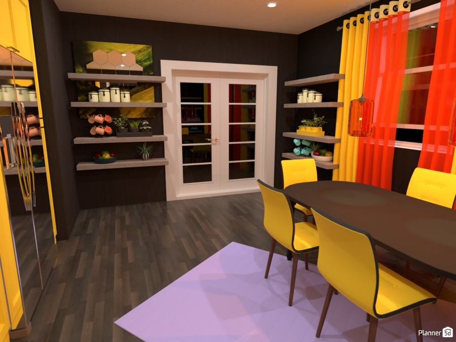 Color ful kitchen 4485602 by Mark image