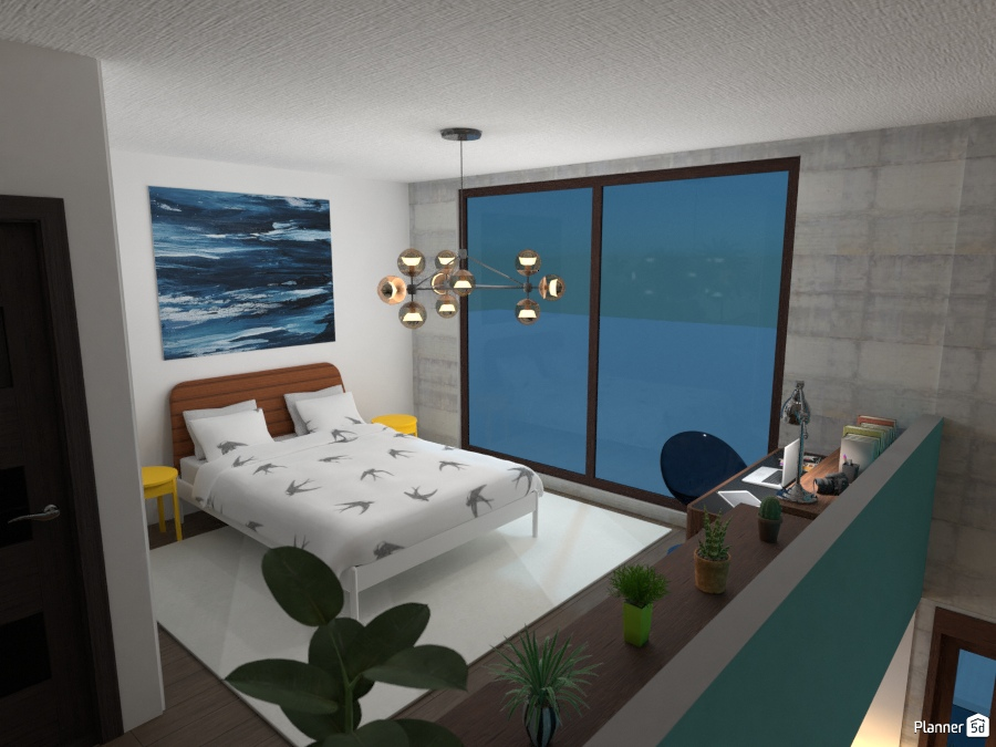 A cool loft apartment 76027 by ענבר רביץ image