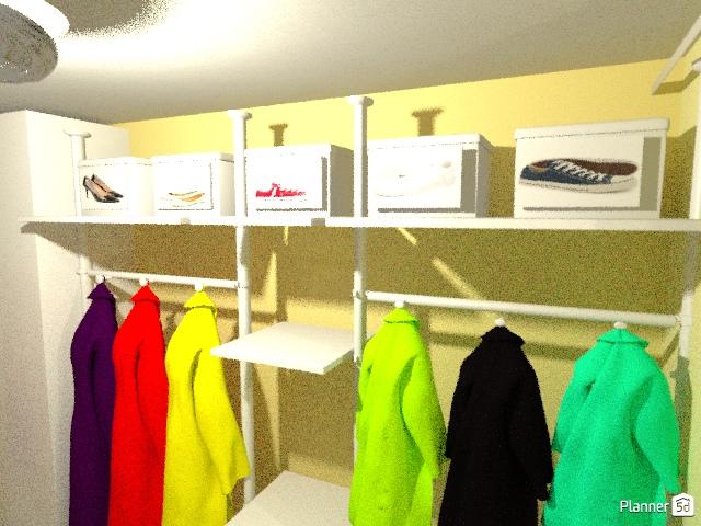Спальня+гардеробная 65050 by Алсу Сабирова image