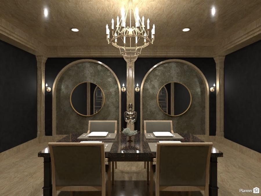 dining room [ dark luxury ] 4569022 by LØU DERØИNE image