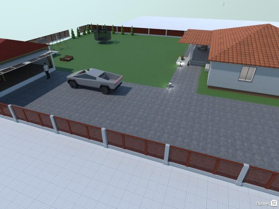 Vieno aukšto namas su terasa ir garažu 86447 by Agneška Veromej image