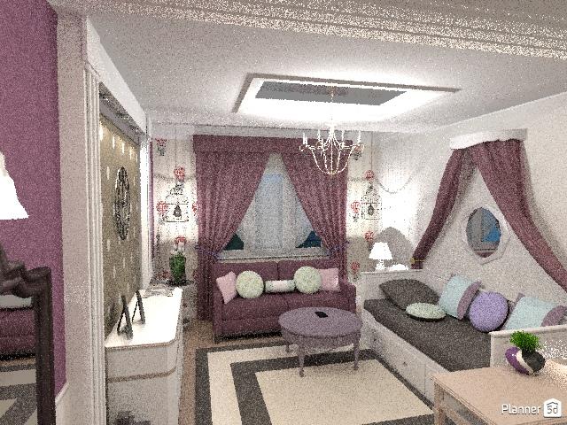 Комната для девочки-подростка 64768 by Elena Strenova image