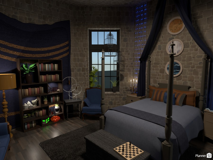 Ravenclaw Bedroom Design 4314417 by Flaw image