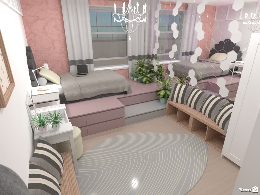 Teenage bedroom 4671746 by Mia image