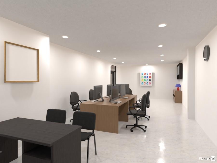 Minimalist office / studio 4024896 by Elsa Loekito image