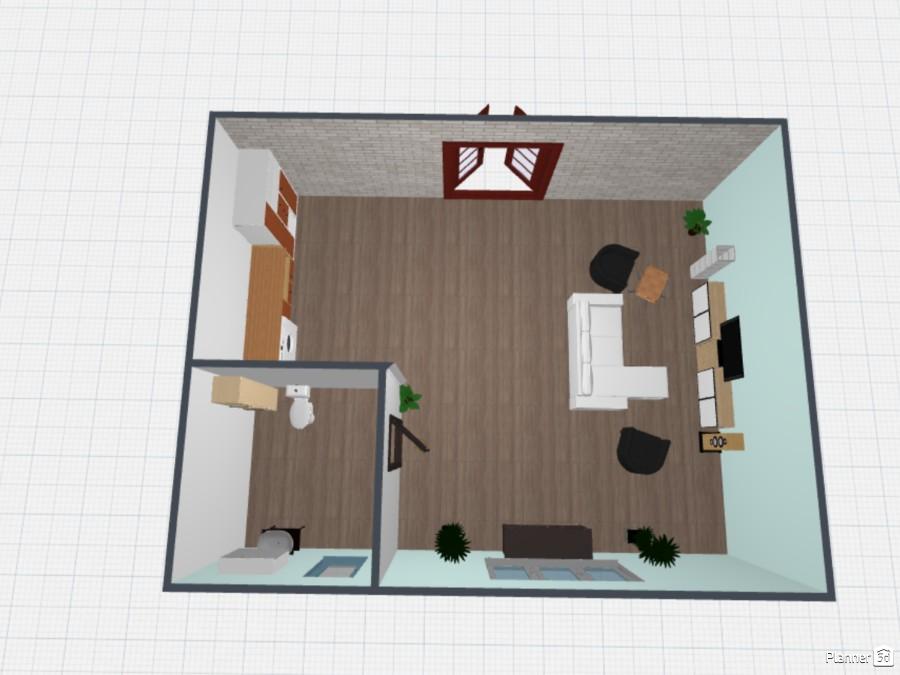 Salón con lavandería y aseo 83675 by Planner Time! image