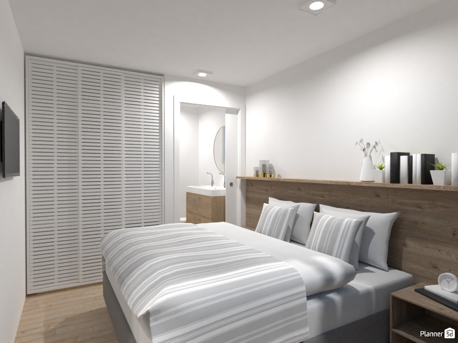 Modular & ecological home - bedroom 4637465 by Lucija Marko image