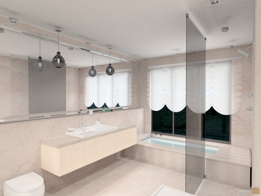 Ванная комната в доме 1032714 by Ольга Строева image