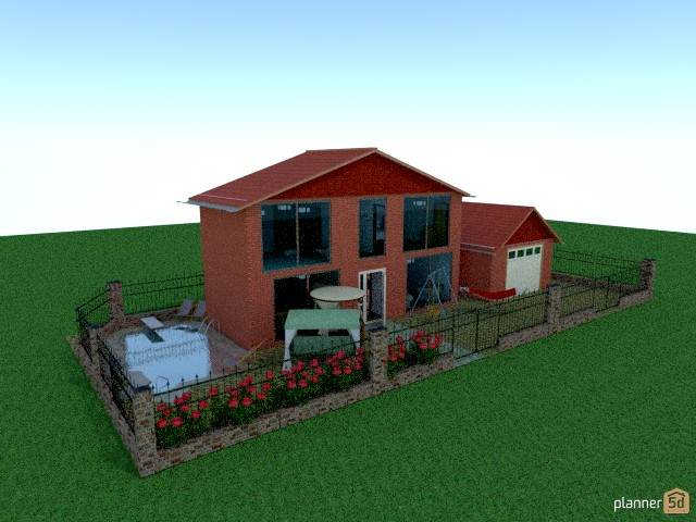 My house (inspired by planner 5d facebook page's cover) 50015 by Julya Prycern image