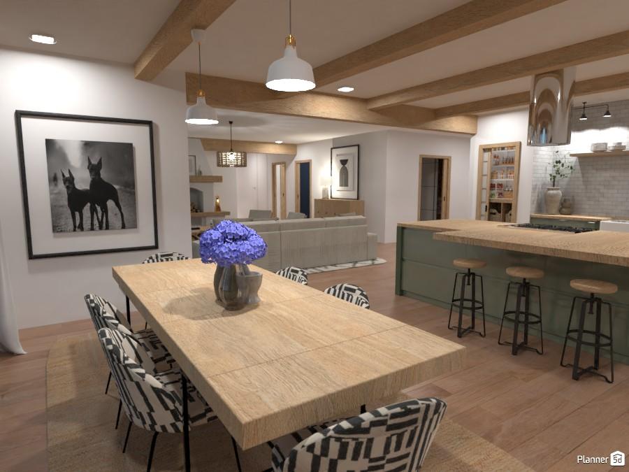 Modern Farmhouse - Dinning Room 4480657 by Ana G image
