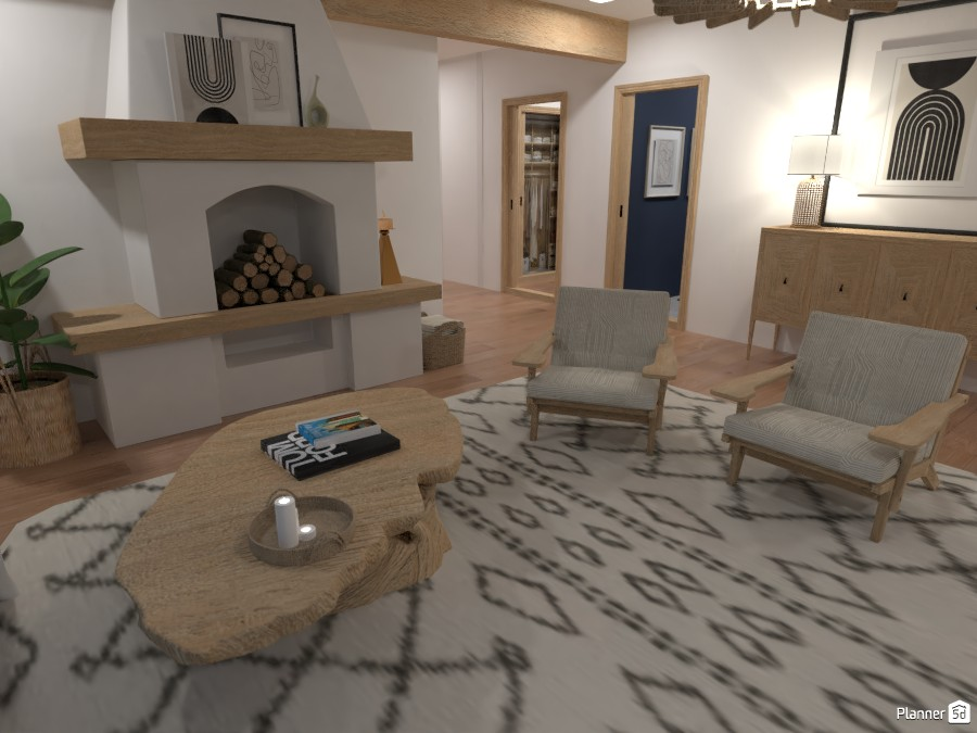 Modern Farmhouse - Formal Living Room 4480661 by Ana G image