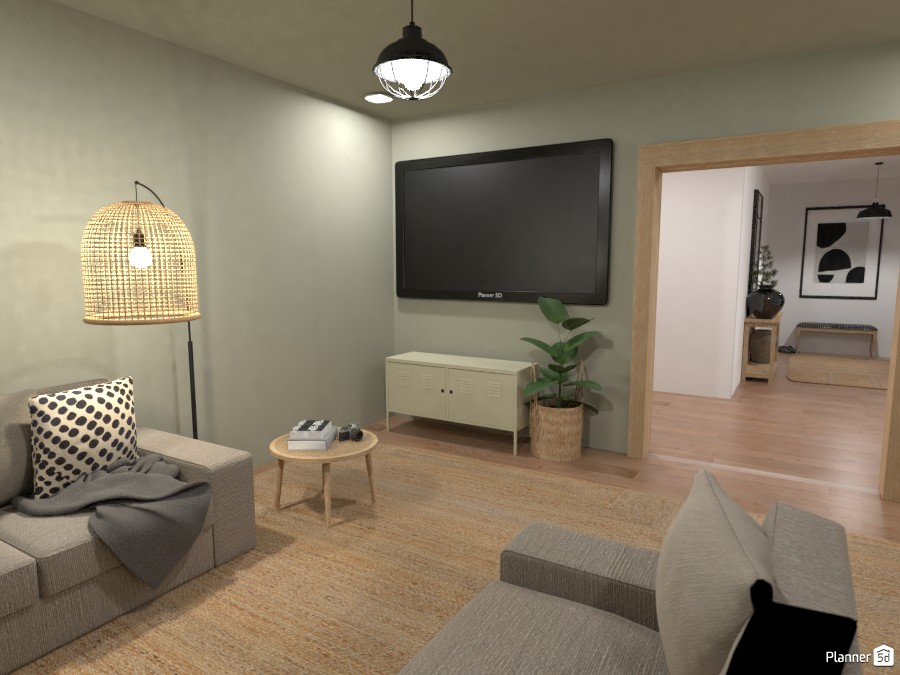 Modern Farmhouse - Family/ Cinema Room 4480652 by Ana G image