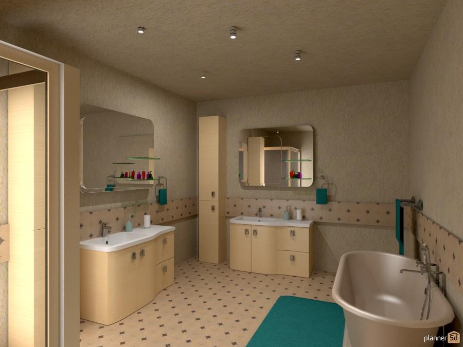 beige bath 1014583 by Joy Suiter image