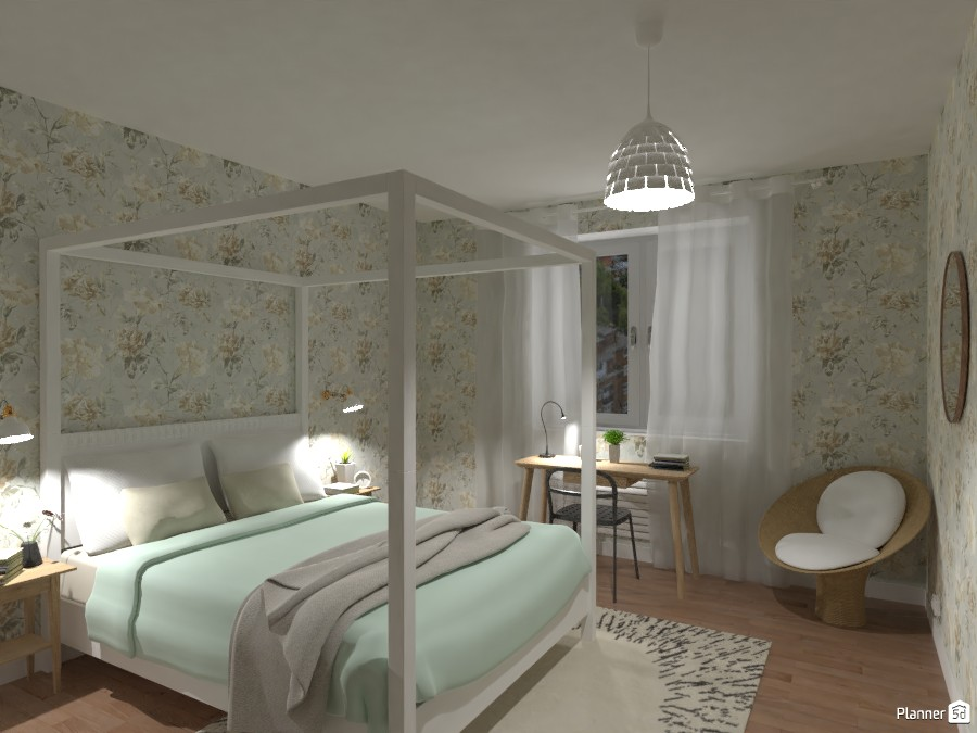 Scandi style apartment with terrace - bedroom 4727969 by Lucija Marko image