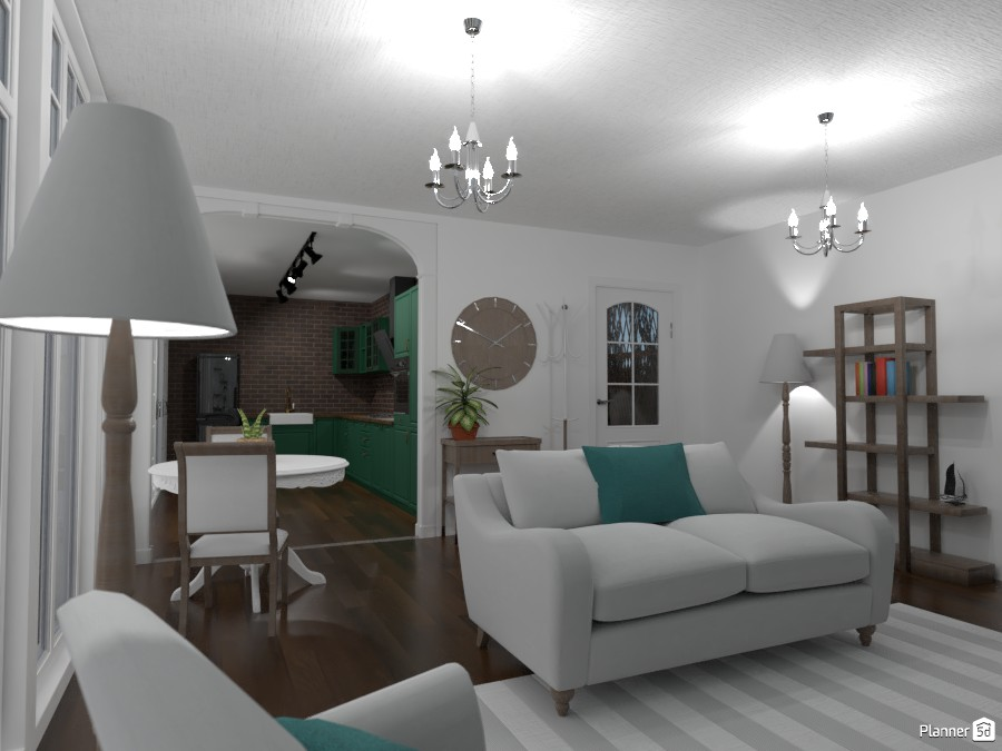 Connecting Living Room and Kitchen 3561780 by Random1997girl image