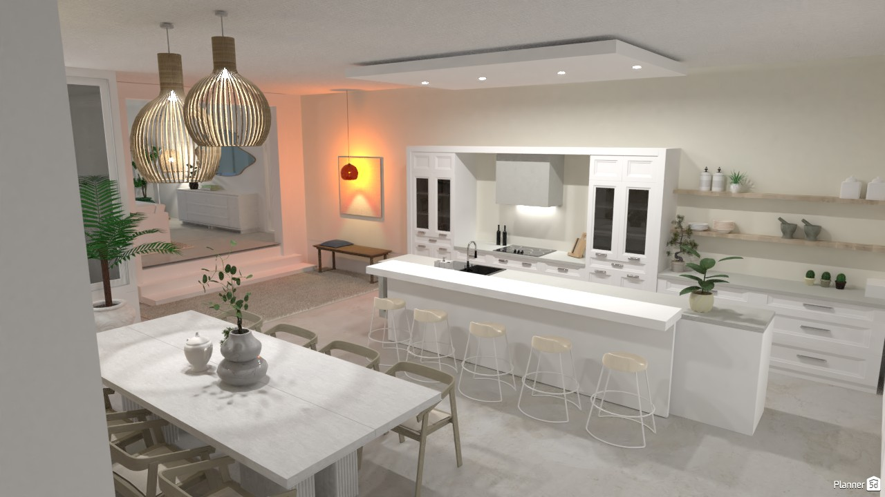 Kitchen with neutral colors 4422194 by SELIN5DPLANNER image
