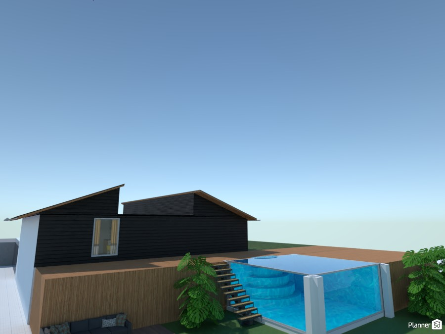 Cool House with pool 4865857 by MAACCCASS image