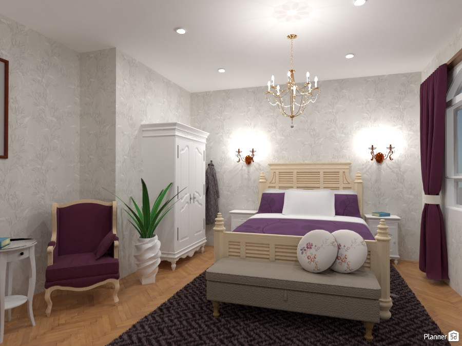 Classic bedroom : Design battle contest 4464073 by Gabes image