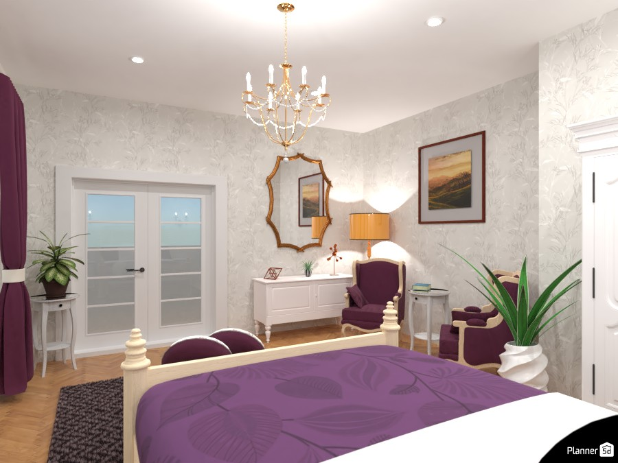 Classic bedroom : Design battle contest 4464076 by Gabes image