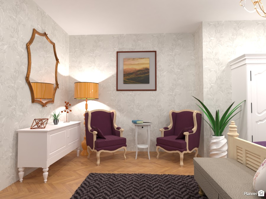 Classic bedroom : Design battle contest 4464078 by Gabes image